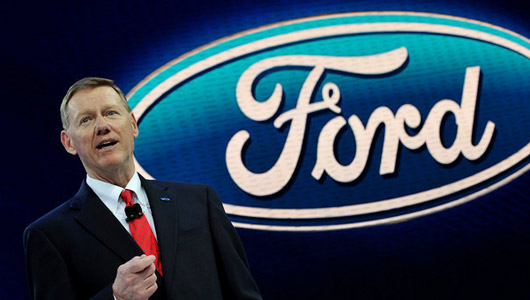 Ceo alan mulally c th ng 13 8 tri u usd for Ford motor company alan mulally