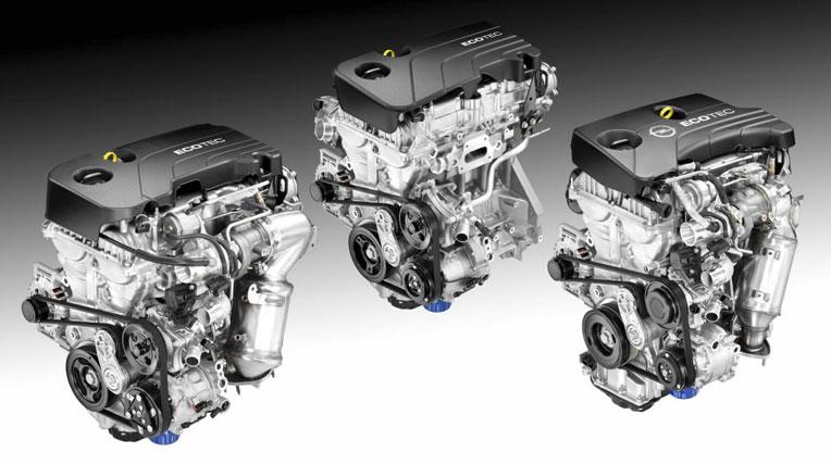 dong co ecotec GM tiết lộ gia đình động cơ Ecotec với công nghệ mới
