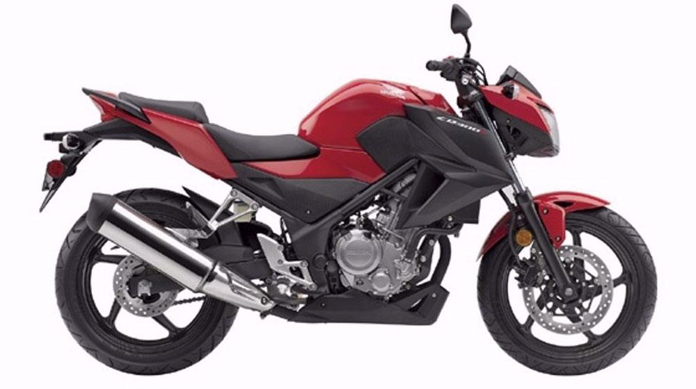Honda trình làng naked-bike 300 phân khối mới