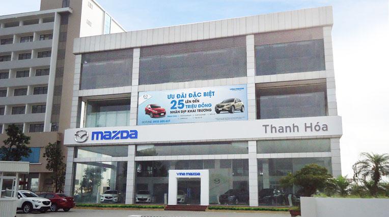 Thanh Hóa có showroom Mazda chuẩn toàn cầu