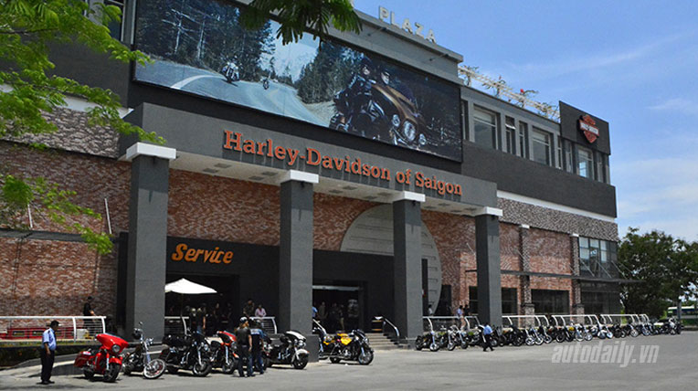 Sắp có showroom Harley Davidson tại Hà Nội