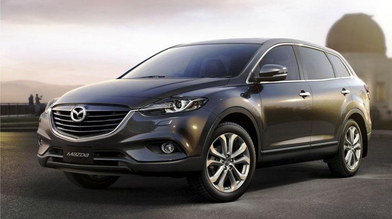 Mazda CX-9 thế hệ mới sắp trình làng