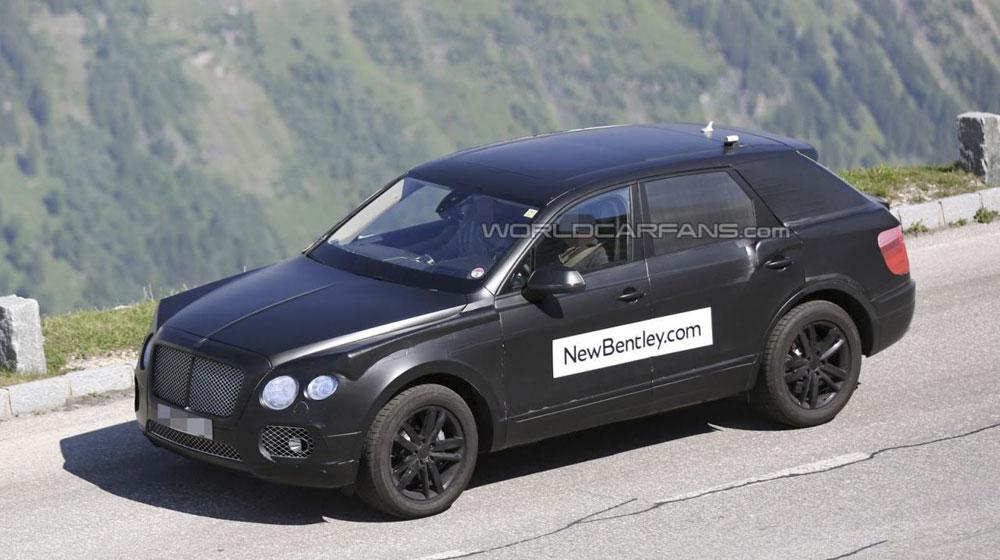 Bentley SUV 2016 sẽ có giá trên 200.000 USD