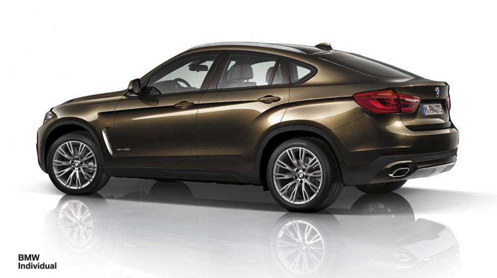 Thể hiện cá tính với BMW X6 Individual 2015