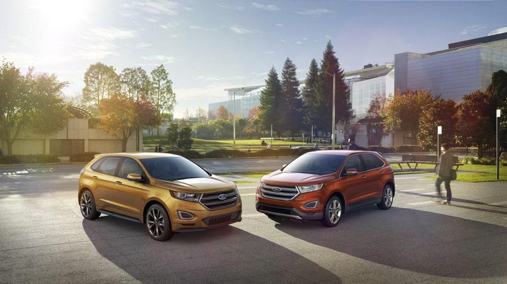 Ford Edge 2015 sẽ được bán ở hơn 100 thị trường