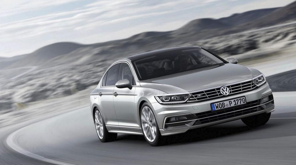 Volkswagen Passat 2015 chính thức lộ diện
