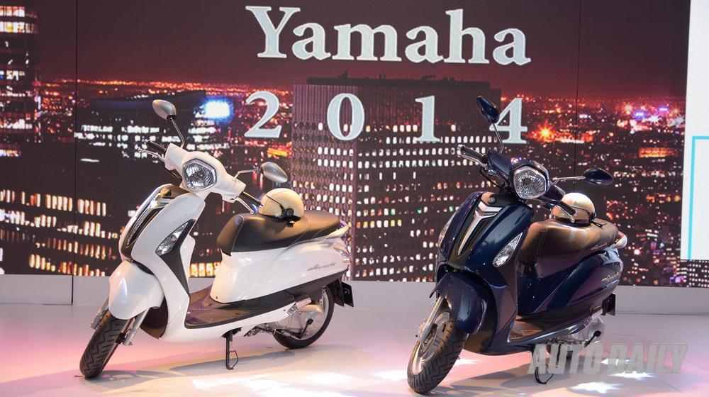 Yamaha ra mắt xe tay ga Nozza Grande tại Việt Nam