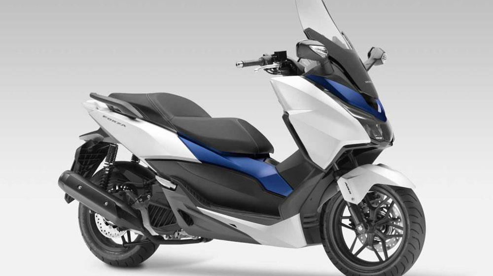 Honda ra xe tay ga mới với thiết kế đầy góc cạnh