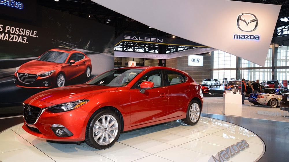 Mazda3 1 Mazda giới thiệu công nghệ đèn pha LED thông minh
