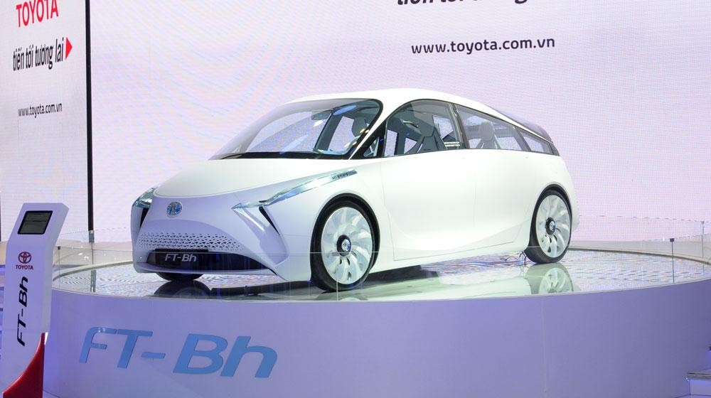 """Toyota FT-Bh concept: """"Xế lạ"""" nhất Vietnam Motor Show 2014"""