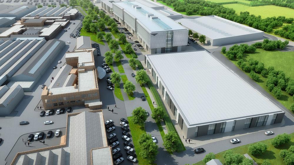 Bentley đầu tư 62,7 triệu USD xây dựng Trung tâm R&D