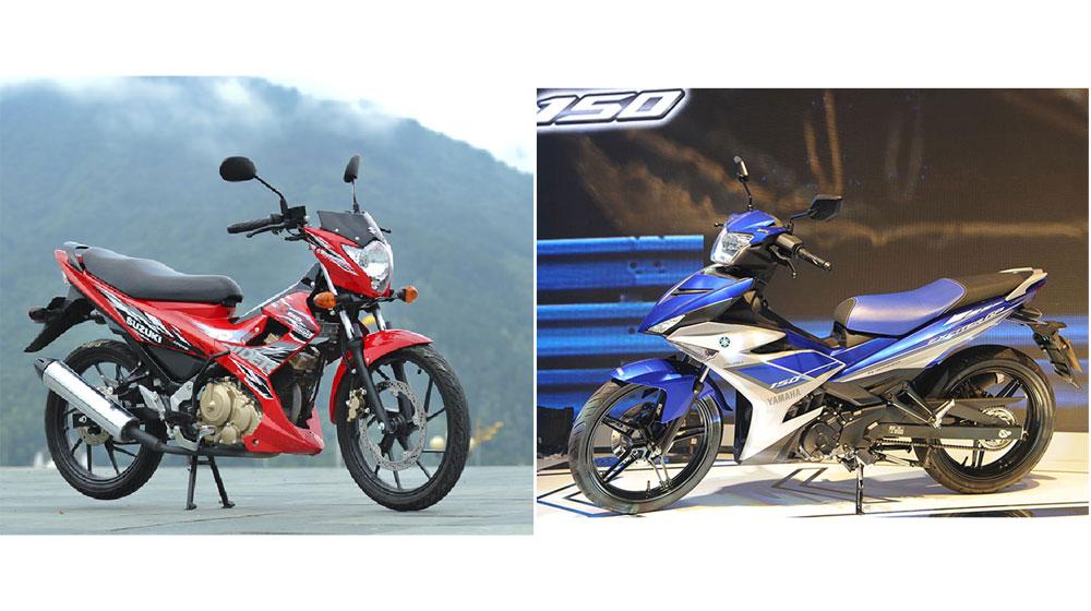 Chọn Suzuki Raider R150 hay Yamaha Exciter 150?