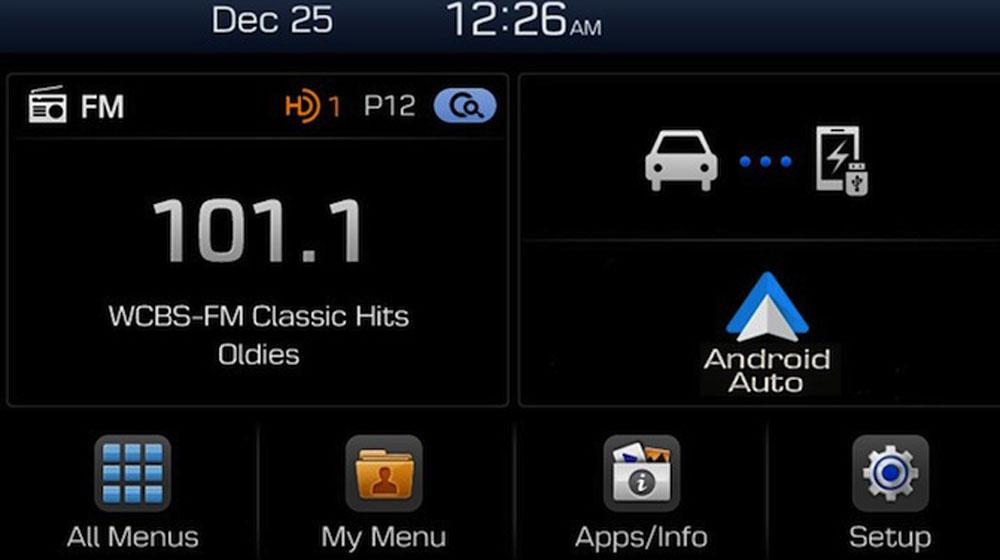 Hệ thống Display Audio của Hyundai sẽ không có đầu đọc CD