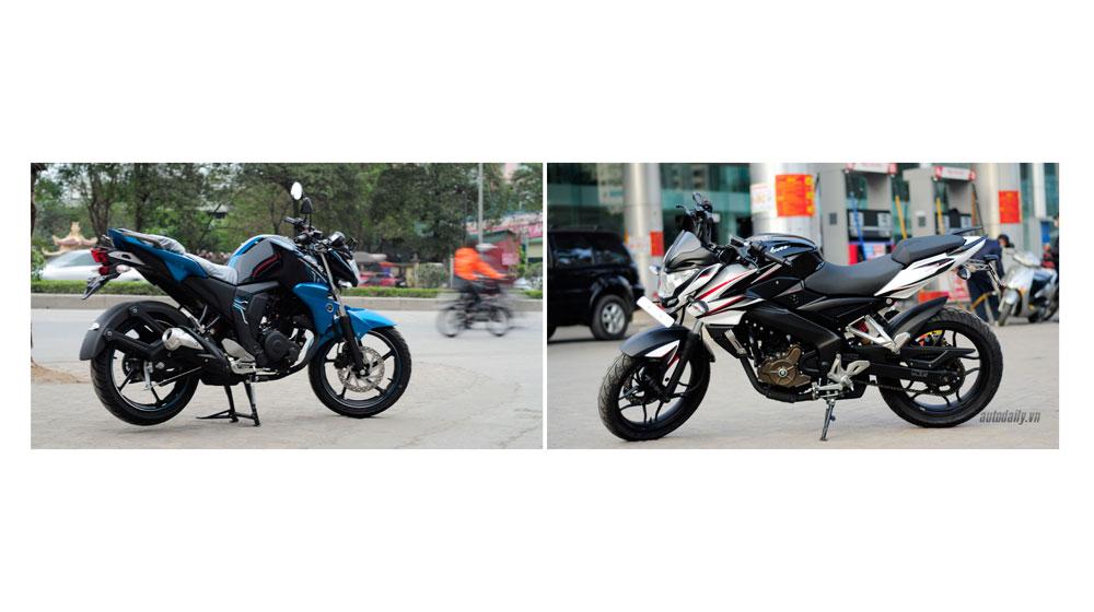 90 triệu đồng, nên chọn Yamaha FZ-S hay Bajaj Pulsar 200ns?
