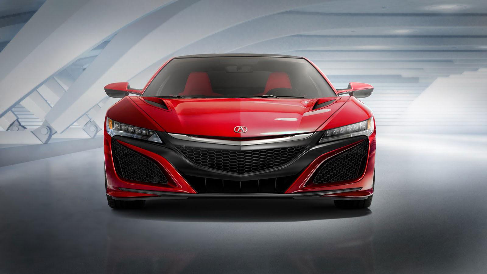 Acura NSX phiên bản sản xuất chính thức lộ diện
