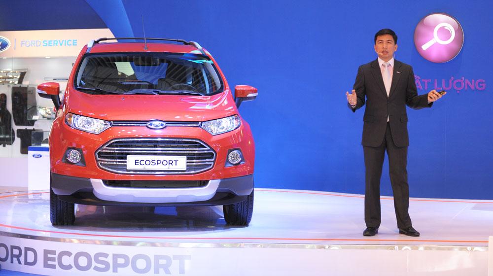 TGĐ Ford VN: EcoSport – Yếu tố mới của Ford tại Việt Nam