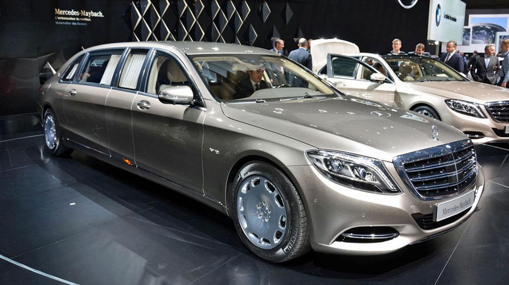 Ngây ngất trước vẻ đẹp của Mercedes-Maybach S600 Pullman
