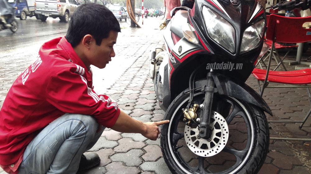 5 lưu ý khi sử dụng lốp không săm xe máy