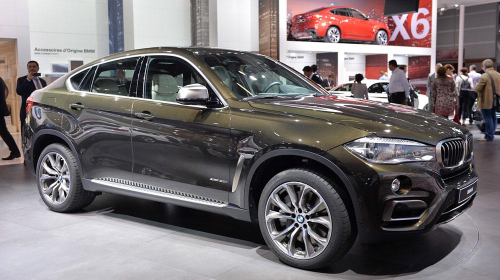 Chiều nay, BMW X6 2015 chính thức ra mắt tại Hà Nội