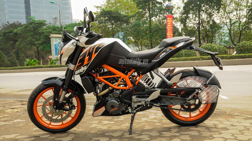 ktm duke 390 abs 2014: mô-tô tầm trung giá dưới 200 triệu