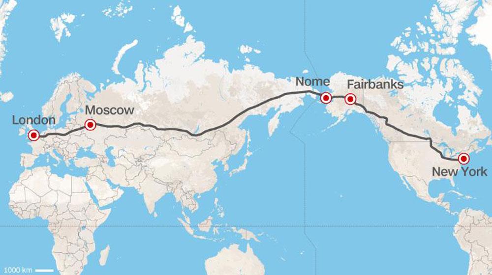 Sẽ có siêu cao tốc nối liền London và New York?