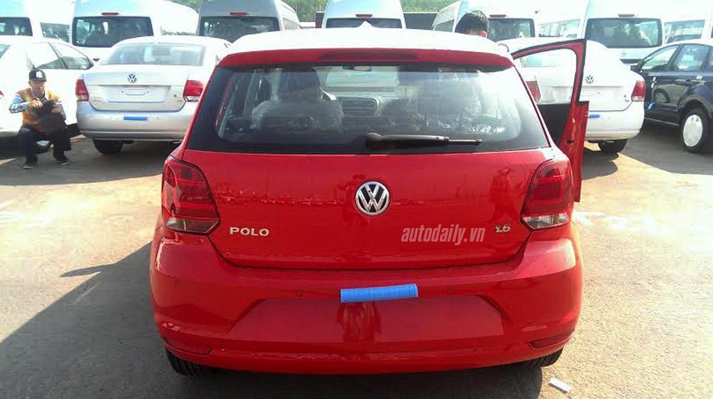 Volkswagen Polo Hatchback 2015 đầu tiên về Việt Nam