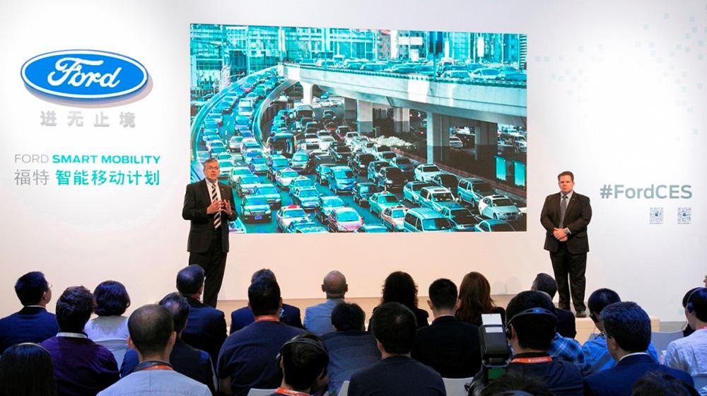 Nhiều công nghệ mới được Ford mang đến CES Asia