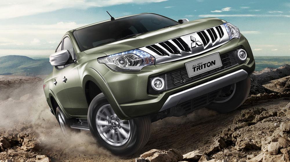 """All new Triton %287%29 Mitsubishi Triton mới có gì để """"chiến"""" với các đối thủ khác tại Việt Nam"""
