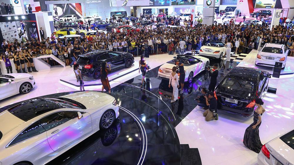 motor show Giá ô tô có thể tăng 20% 30% trong thời gian tới