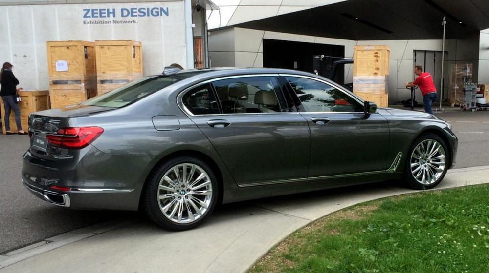 BMW 7-Series 2016 có giá từ 81.300 USD