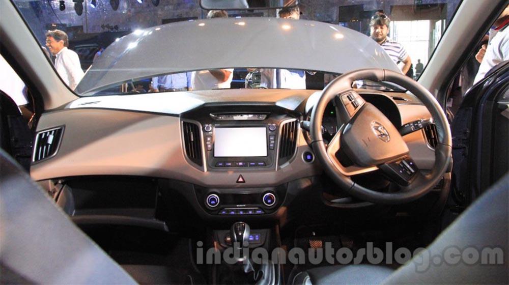 Hyundai creta 2016 ch nh th c ra m t gi t usd for Creta sx o interior