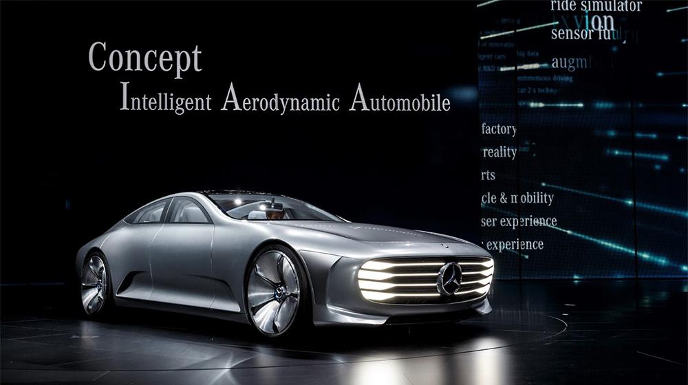Ngắm thiết kế tương lai trên concept mới của Mercedes