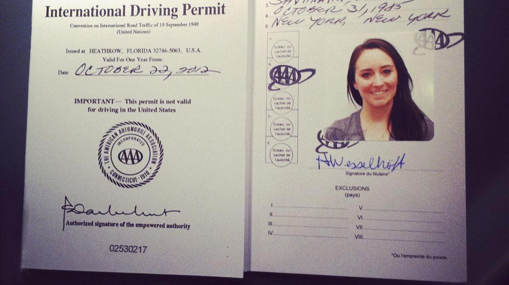 Kết quả hình ảnh cho giấy phép lái xe quốc tế