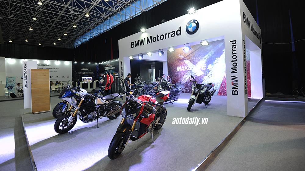 Chiêm ngưỡng gian hàng Ducati và BMW Motorrad tại VIMS 2015