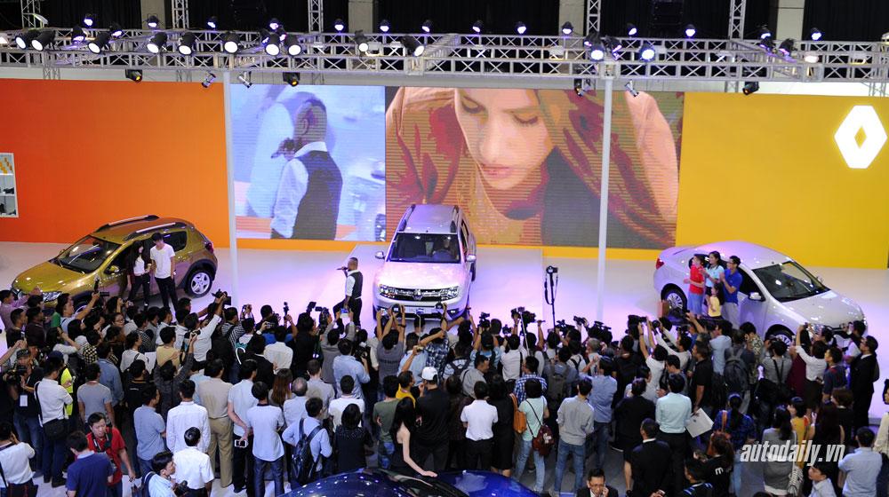 Video: Toàn cảnh gian hàng Renault tại VIMS 2015
