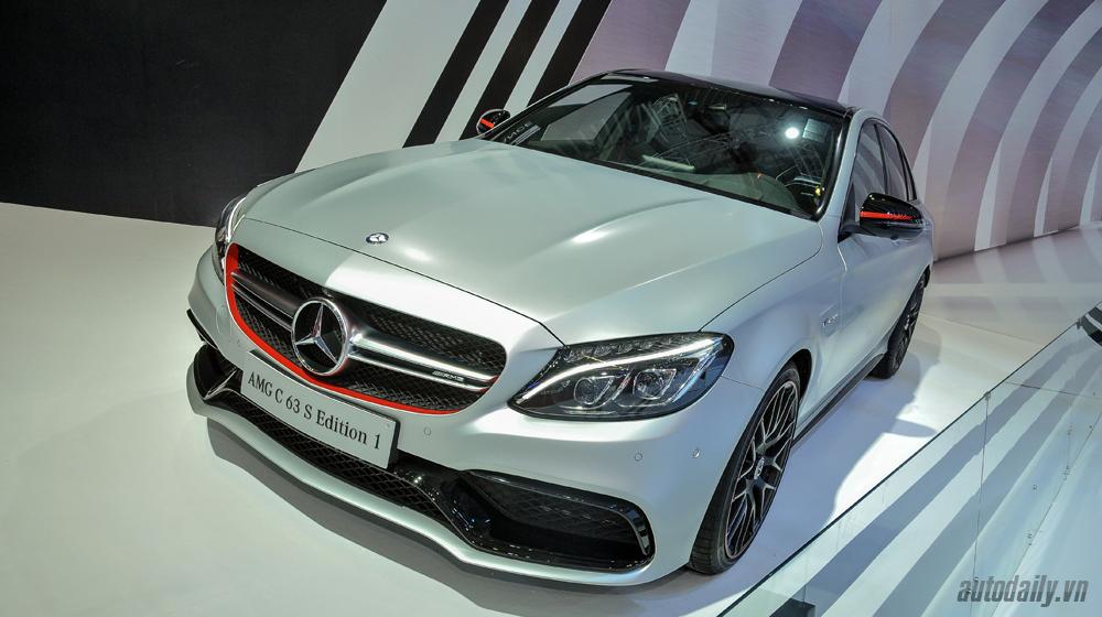 Cận cảnh Mercedes-AMG C63 S Edition 1 tại VMS 2015