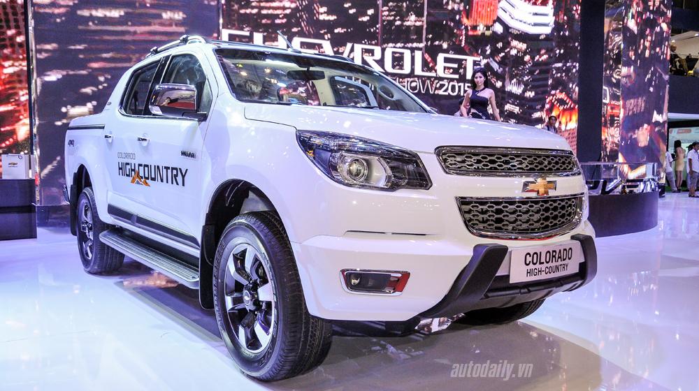 Xem kỹ Chevrolet Colorado High Country vừa ra mắt tại Việt Nam