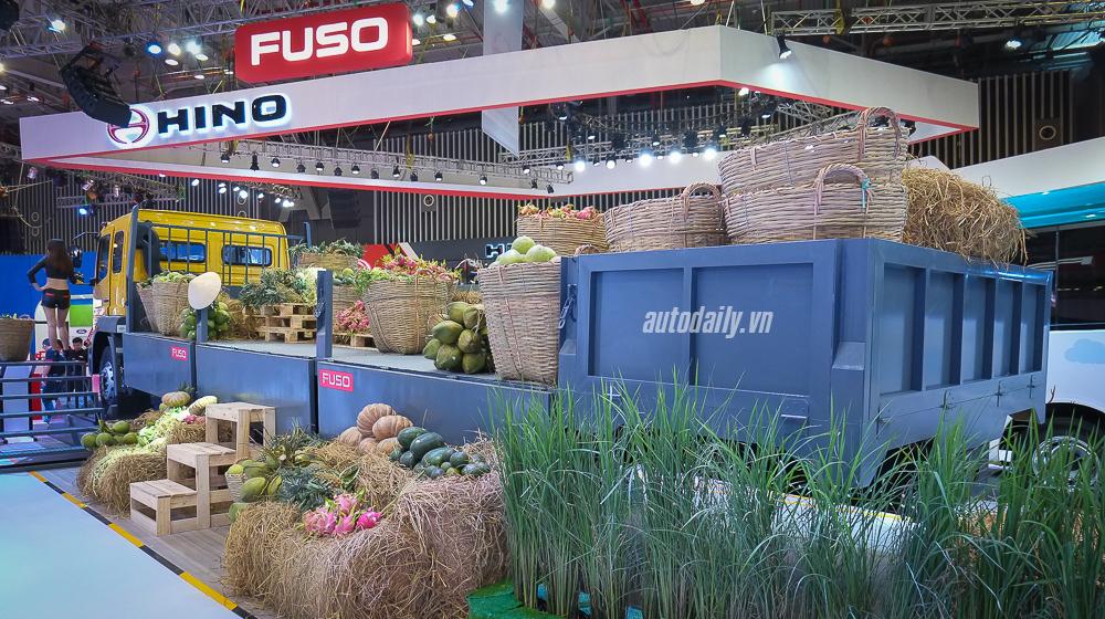 Nét độc đáo của gian hàng FUSO tại VMS 2015