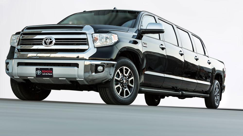 Toyota Tundrasine concept 8 cửa: Bán tải limousine