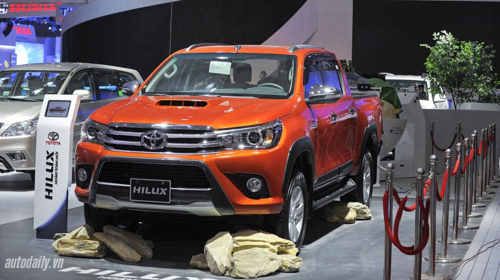 Toyota Việt Nam tăng trưởng nhẹ trong tháng 11/2015