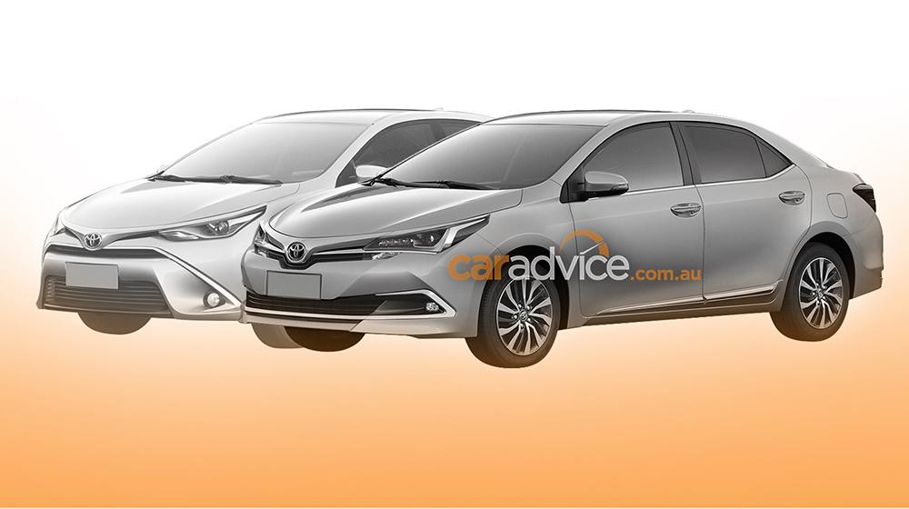 Lộ diện Toyota Corolla Altis phiên bản nâng cấp