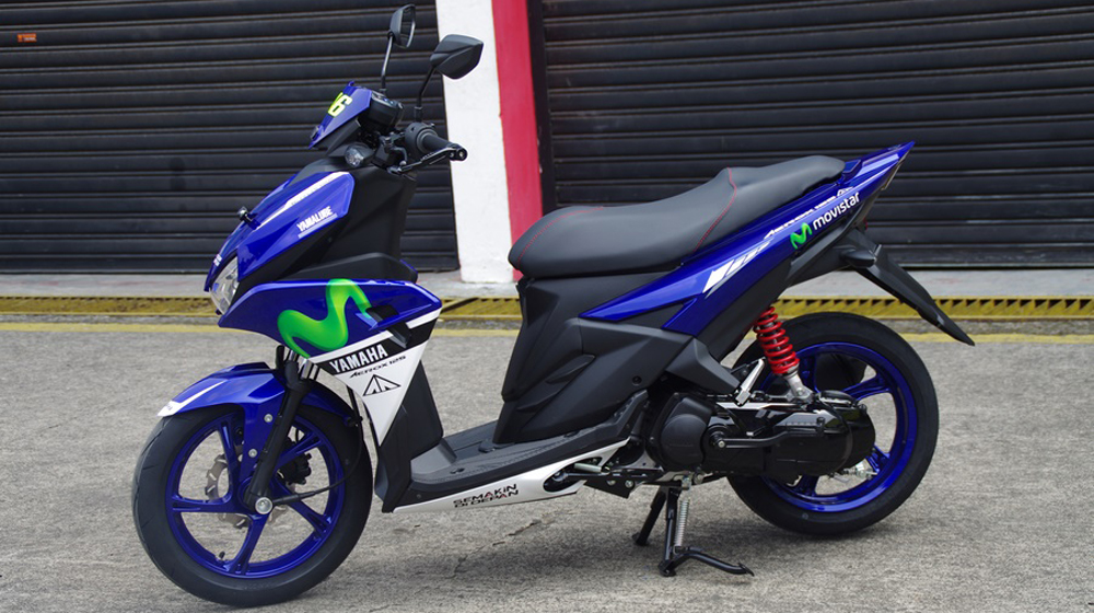 Auto Car Yamaha Aerox 125lc Officially Launched Price 1310
