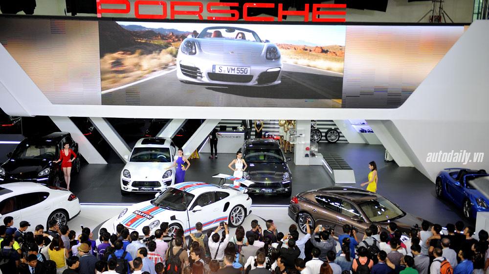 Porsche Việt Nam đạt doanh số kỷ lục năm 2015