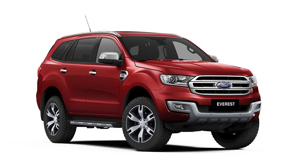 Ford everest 2017 hoàn toàn mới
