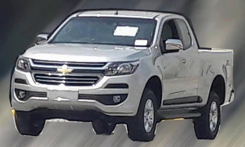 Rò rỉ hình ảnh Chevrolet Colorado phiên bản nâng cấp