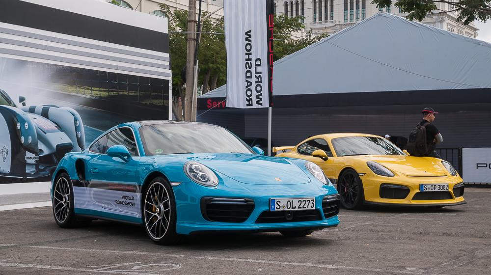 Chương trình trải nghiệm xe Porsche khai màn tại Sài Gòn