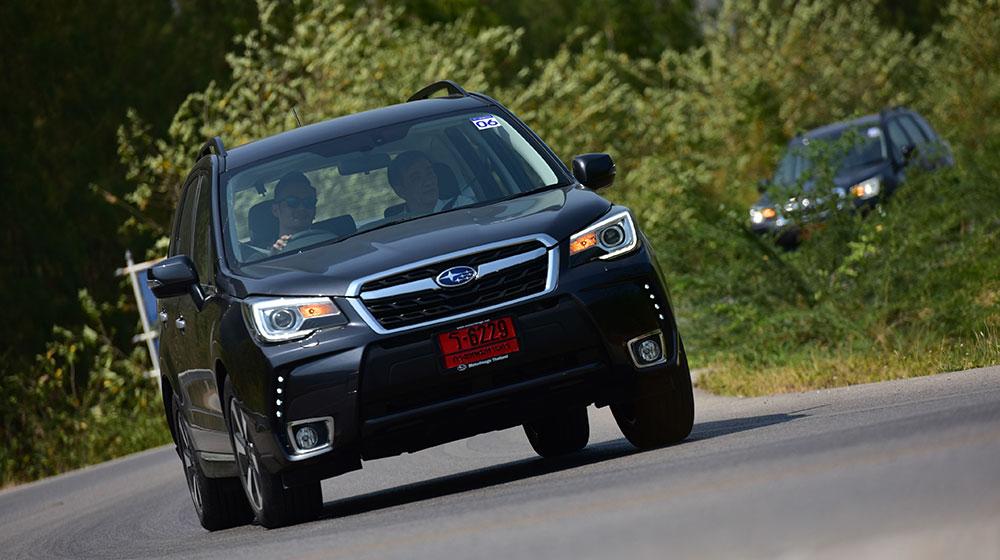 Danh gia Subaru Forester 2016 tu Bangkok toi thanh pho bien Hua Hin