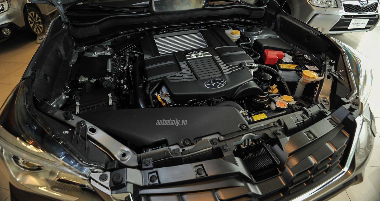 Subaru Forester XT 2016 dau tien tai Ha Noi gia 1665 ty dong
