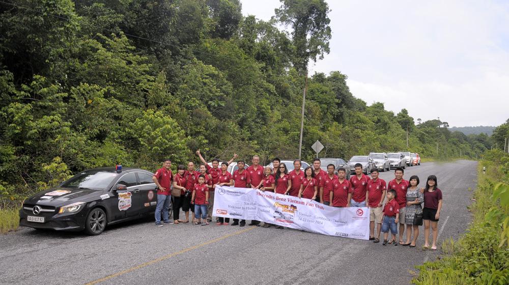 MBFC Caravan, ngày 1 -  Những ấn tượng đầu tiên trên đất Campuchia