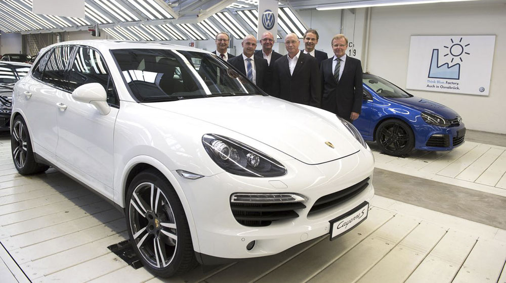 Volkswagen sẽ sản xuất Cayenne từ mùa hè tới